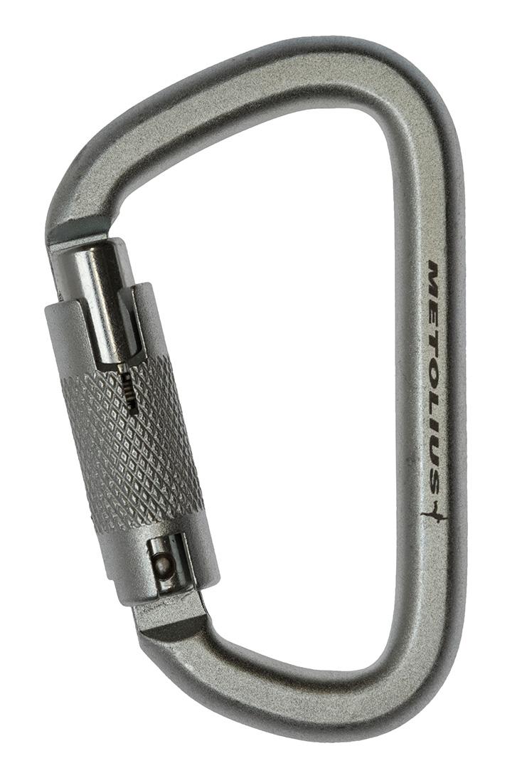 Steel Locking Carabiners Metolius Climbing