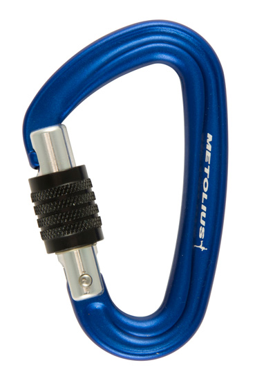 Bravo Locking Carabiner - logo side
