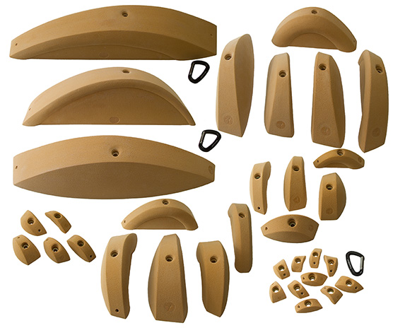 Splines Complete Set 33 climbing holds