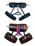 Multiple Colors for Climbing Harnesses