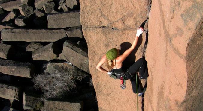 Metolius Unisexe Bouldering Brosse Marron Sport Escalade Léger